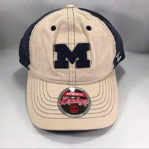 Zephyr NCAA Hat Michigan Wolverines Adjustable